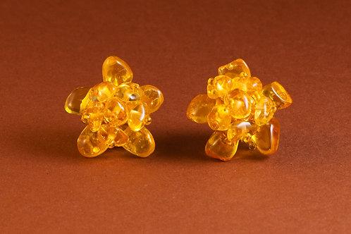 Earrings small flowers