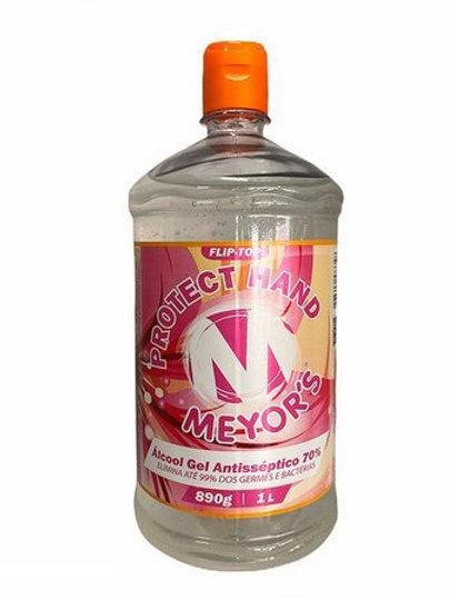 Álcool gel de 1 lt