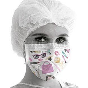 PROTDESC Estampada Máscara cirúrgica