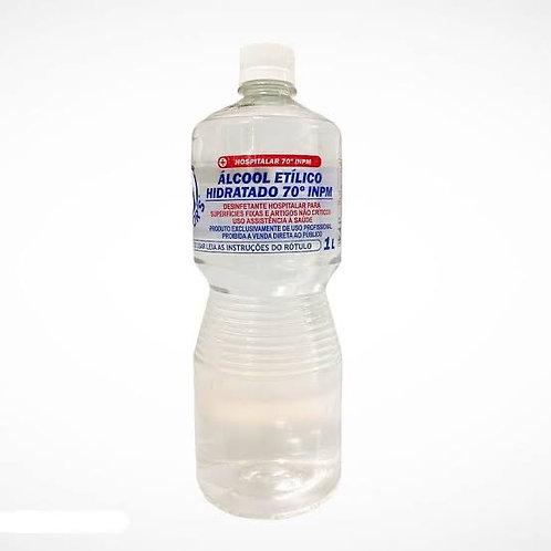 Álcool Líquido Etílico Hidratado 70° INPM 1 litro
