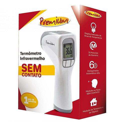 Termômetro Digital de Testa Sem Contato Premium G-Tech