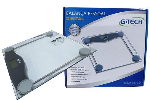 Balança Corporal Digital G-tech Glass 10 - GTECH