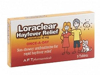 Loraclear 10mg tabs 5s