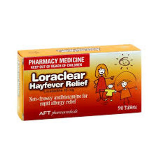 Loraclear Hayfever relief 90s