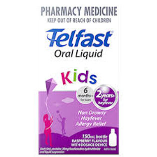 Telfast Oral Liquid 150 mls