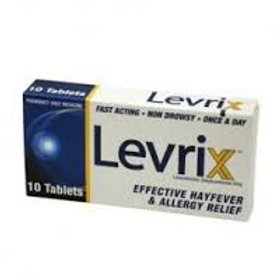 Levrix Allergy tabs 10s
