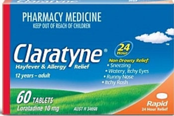 Claratyne Hayfever and Allergy tabs 60s