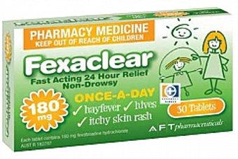 Fexaclear Allergy tabs 30s