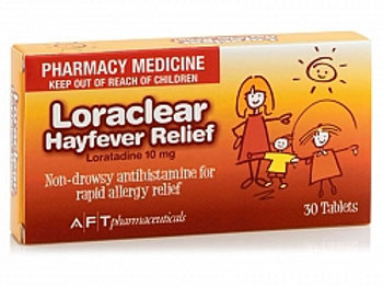 Loraclear Hayfever Relief tabs 30s