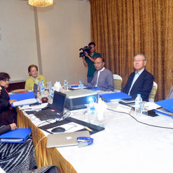 Independent Commission Of Enquiry holds third meeting on 5 Oct, 2018 Photo-MNA
