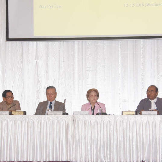 """Independent Commission of Enquiry (ICOE) holds press conference for the launch  of the  """"Call for Submissions"""" Photo- MNA"""