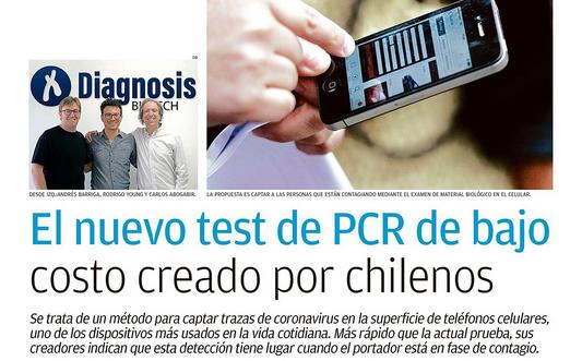 El nuevo test de PCR de bajo costo creado por chilenos