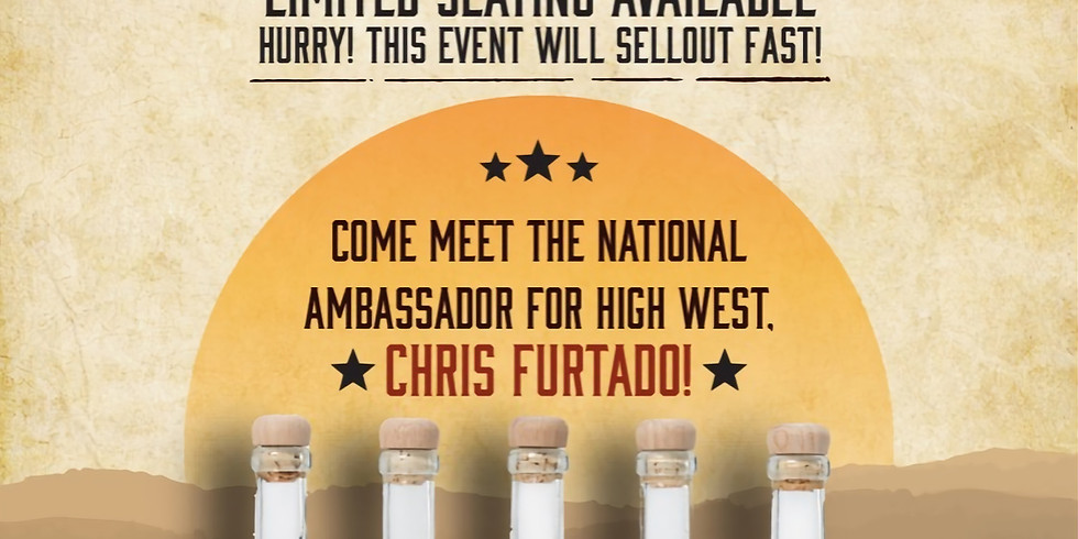 High West Whiskey Dinner - SOLD OUT