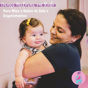 Dança Materna em Rede para Mães e Bebês de Colo e Engatinhantes Semana 01 a 05/06
