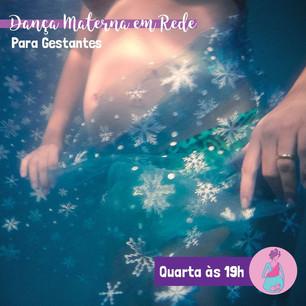 Dança Materna em Rede para Gestantes Semana 06 a 10/07