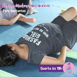 Dança Materna em Rede para Gestantes Semana 17 a 21/08
