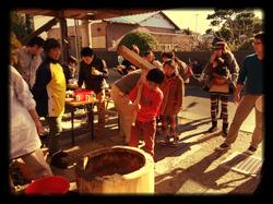 Rice Pounding Ceremony!