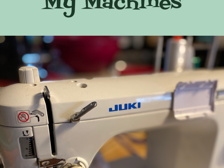 Inside the Studio: My Sewing Machines