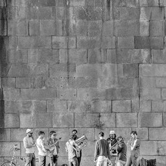 Musicians, Quai du Louvre
