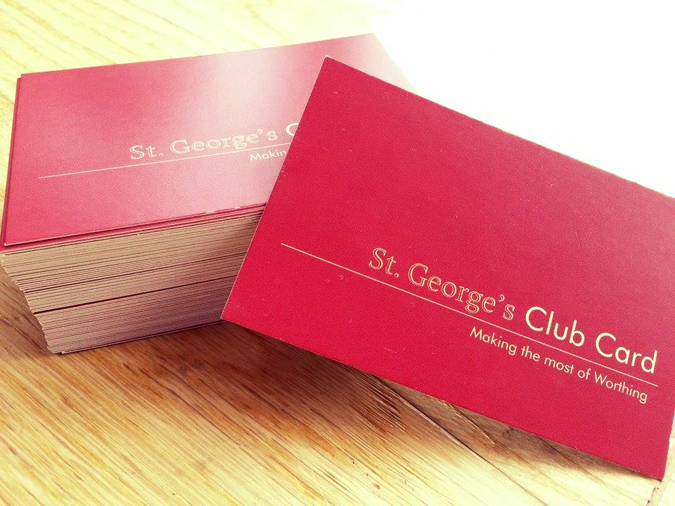 St. George's Card