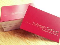St. George's Card