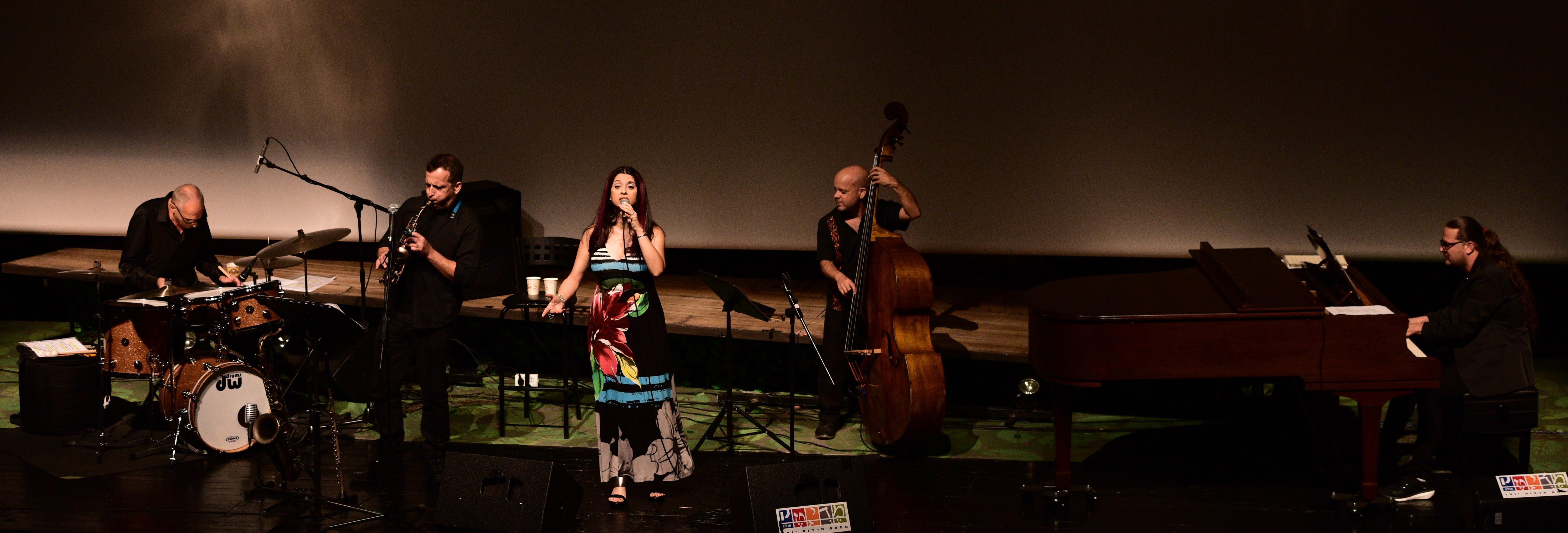 With guest artist Amiram Granot