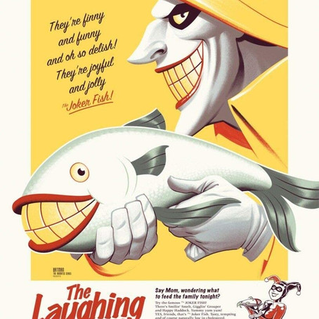 They're finny and funny and oh so delish! They're joyful and jolly Joker fish!