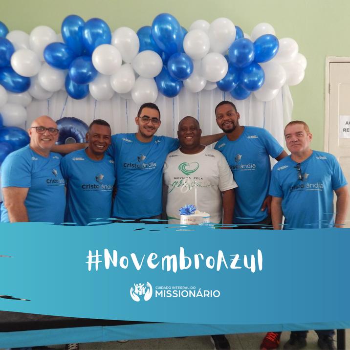 Novembro Azul: mês de conscientização sobre a saúde do homem