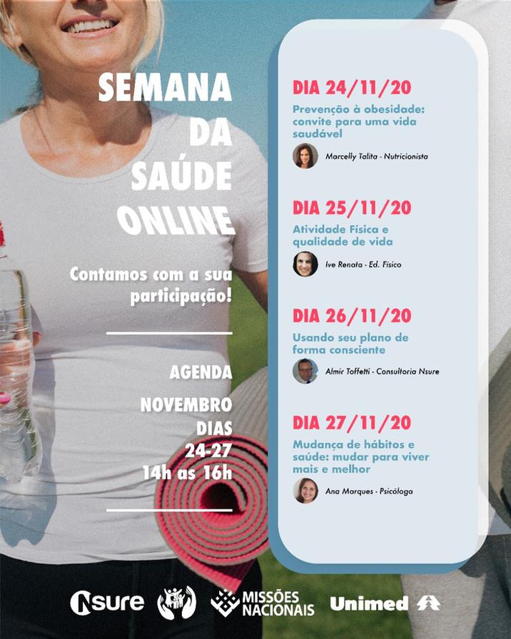Semana da Saúde Online