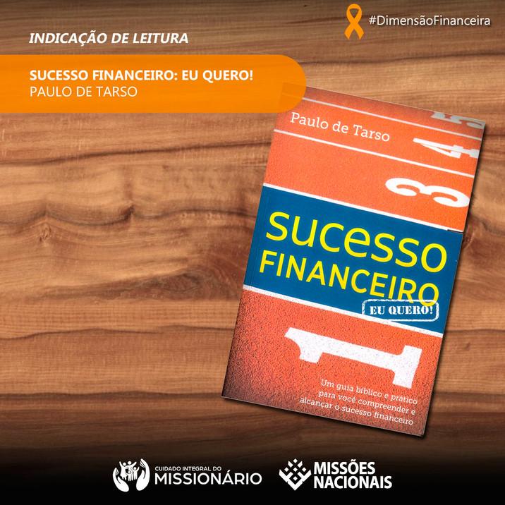 Sucesso Financeiro: Eu quero!