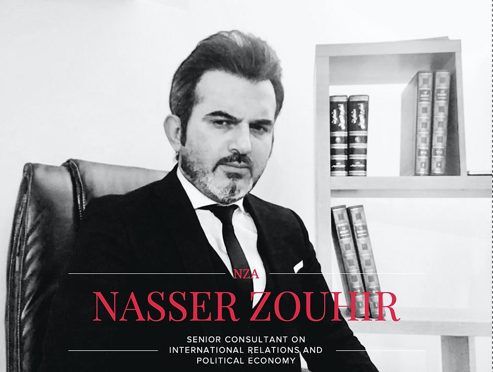 ناصر زهير | مستشار في العلاقات الدولية والاقتصاد السياسي في مركز جنيف للدراسات السياسية والدبلوماسية وباحث ومستشار في الاقتصاد السياسي لدى العديد من المؤسسات الاقتصادية والسياسية الدولية