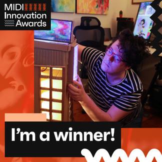 1 Winner - Leigh Davies - MIDI Innovatio