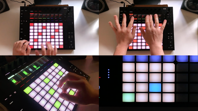 Ableton Push Performances