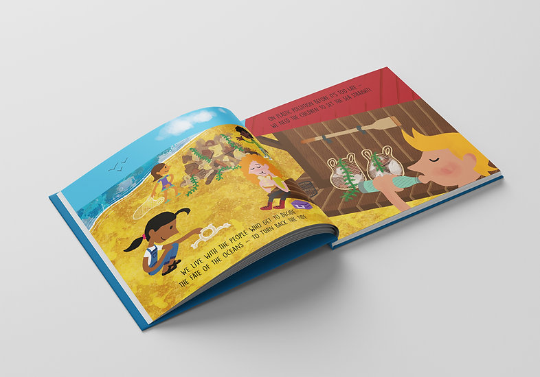 Blueberry Bay -  Inside Pages Mockup 01