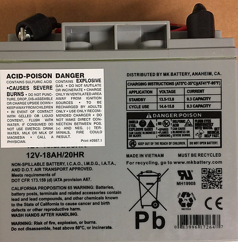 Escalera Replacement Battery