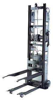 Stair Climbing Handtruck with Removable Forklift