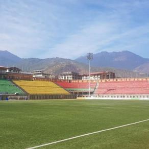 Josh Shepherd in Bhutan with Thimphu City F.C