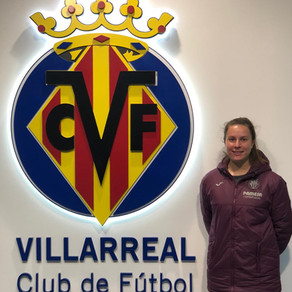 Coaching with Villarreal CF in Spain