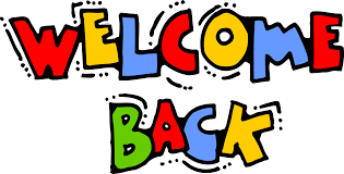 Welcome Back everyone