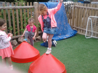 Different ideas about children's ability to climb!!
