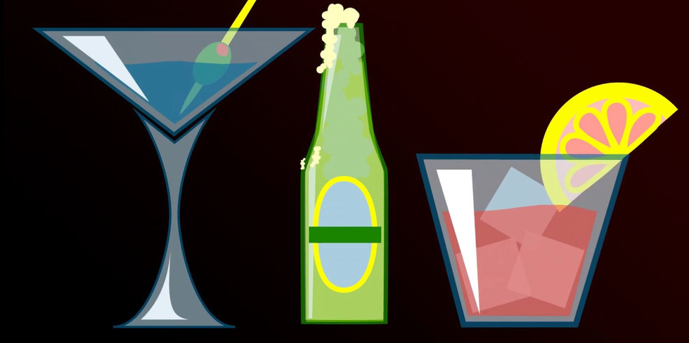 Cocktail Bar Icons
