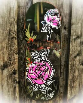 _Brett Of Roses_. Fast'n'Dirty! Handmade