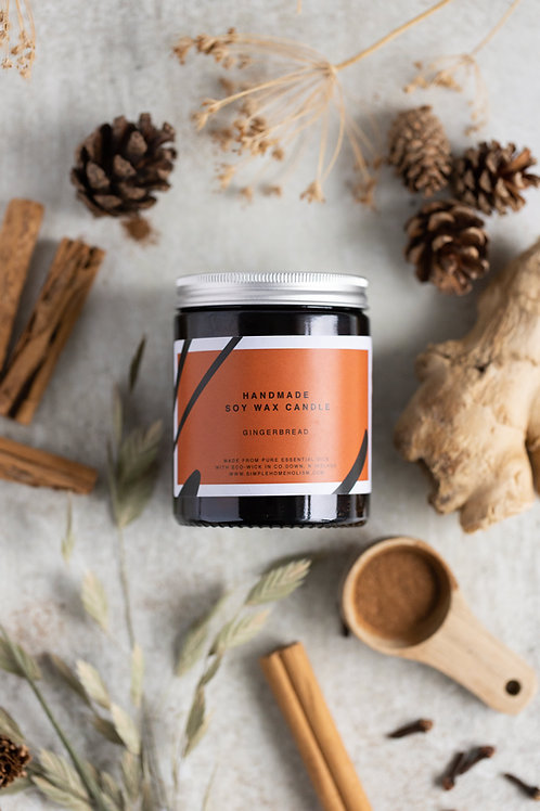 GINGERBREAD SOY WAX CANDLE