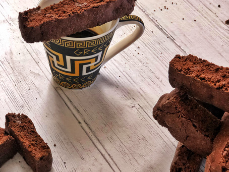 Chocolate Espresso Biscottis are good for you, trust me!