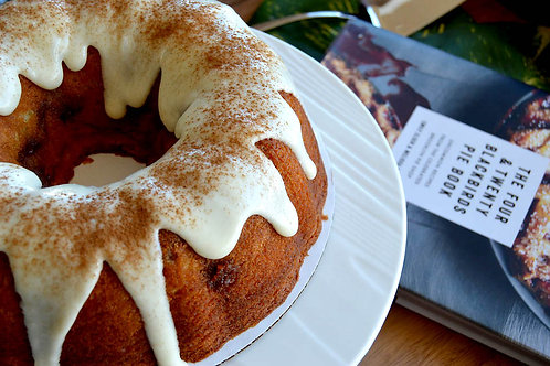 Guava Bundt Cake with Cream Cheese Frosting