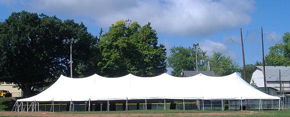 40 x 120 White Pole Tent