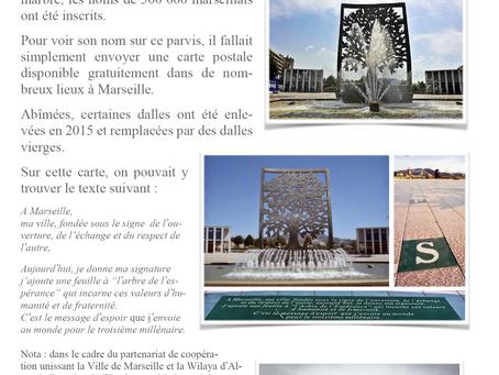 Le parc du 26ème centenaire et l'arbre de l'espérance