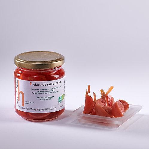 Pickles de radis roses (100 gr)