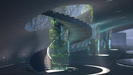 The Green Stairwell