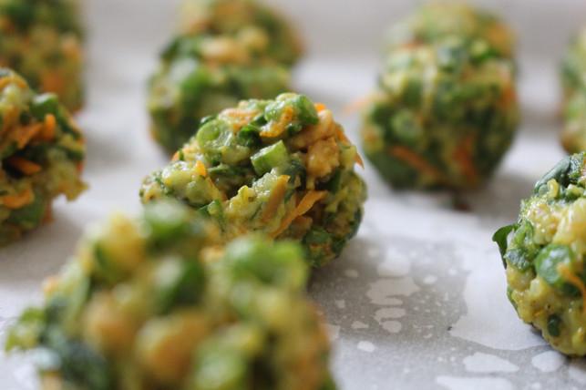 Baked Veggie Dumplings
